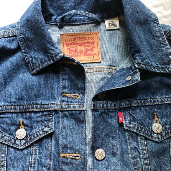 Levi's Trucker jean jacket. Size small, EUC